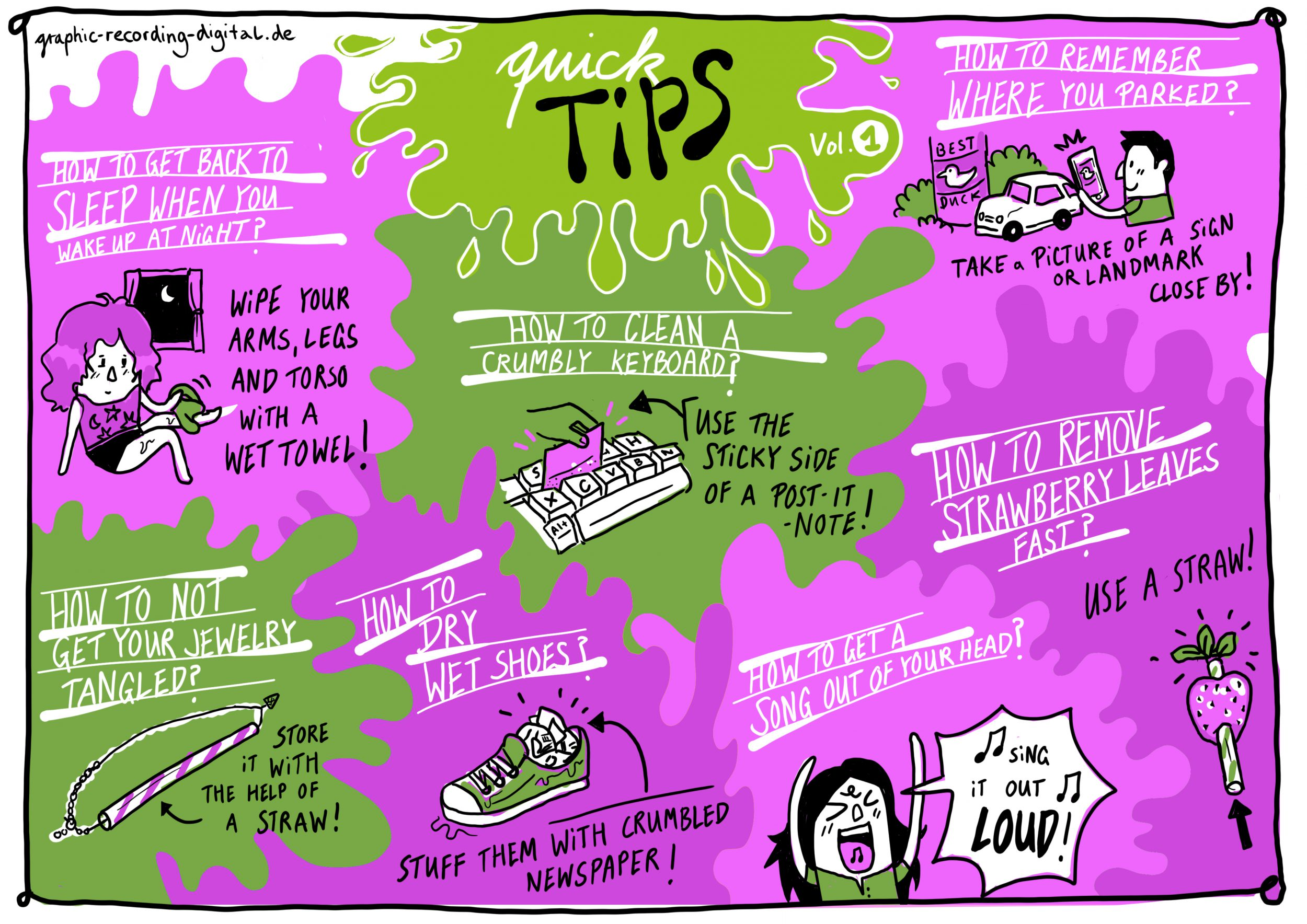 Quick tips designdoppel graphic recording